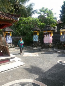 Eka mum hometown temple