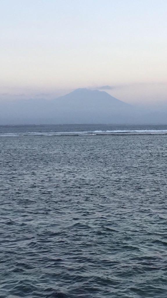 Majestueux Gunung Agung